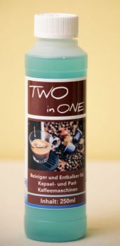 lujo CLEAN Two in One Reiniger & Entkalker, 250ml